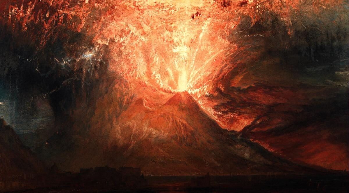 Vesuvius in Eruption - Turner