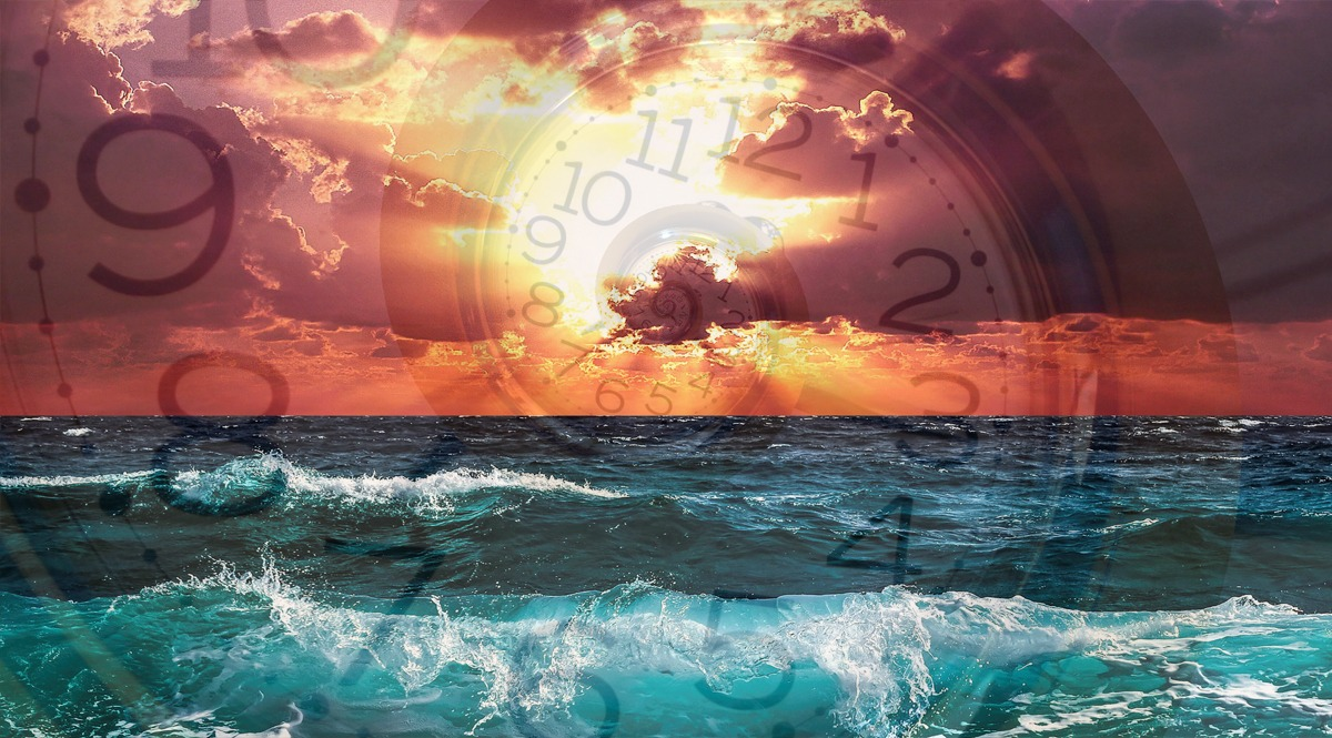 Visions in Time Over the Sea