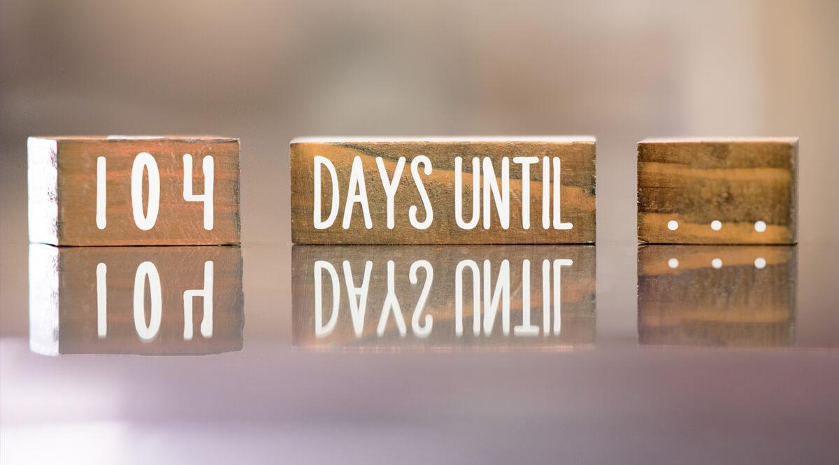 Wooden Block Countdown