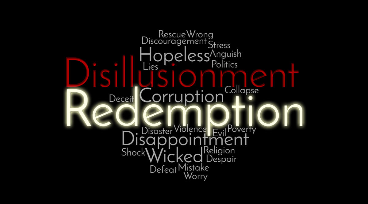 Word Cloud - Disillusionment and Redemption