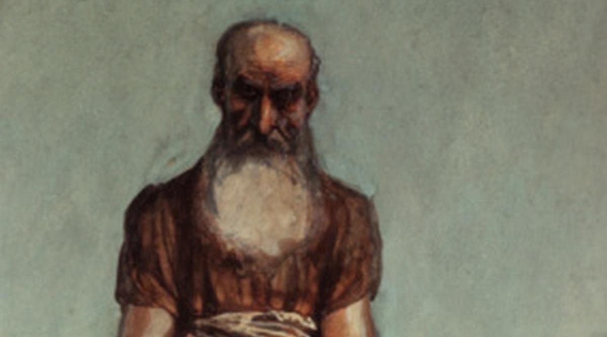 The Prophet Nahum - Tissot