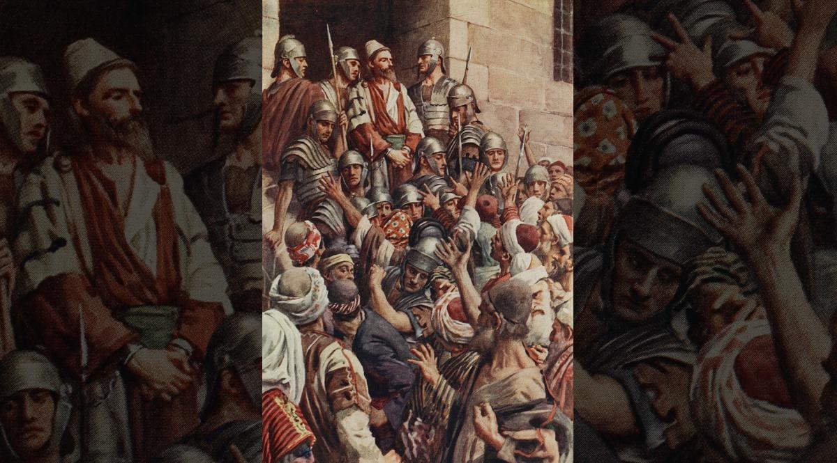 Saint Paul's Apology at Jerusalem